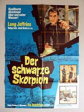 DER SCHWARZE SKORPION * LANG JEFFRIES - A1-Kinoposter - 1-Sheet 1967 EUROSPY
