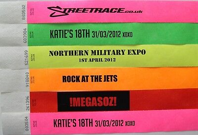 Printed Wristbands Party,Event,Festival,tyvek,Paper Wrist Bands//Tags,Bracelets
