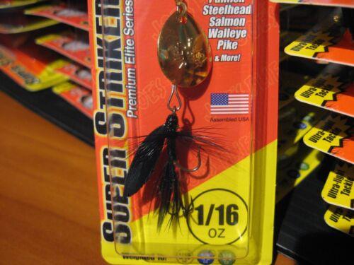 Factory USA Joe/'s Flies Super Striker Spinner Bait 1//16 Oz 127-28 Black Gnat