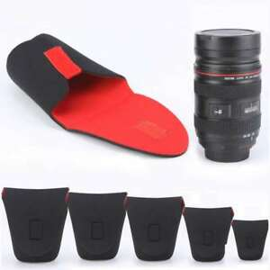 5-Pcs-Neoprene-DSLR-Camera-Lens-Protector-Pouch-Bag-Case-Set-Flexible-Soft-Cover
