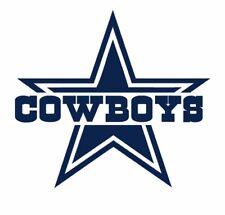 2x Dallas Cowboys Star Pink Decal Sticker Car Auto Window Girls