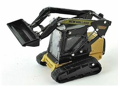 2019 Mode New Holland C185 Tracked Skid Loader 1/87th Scale = H0 - Yellow/black - T48 Post Attraktive Designs;