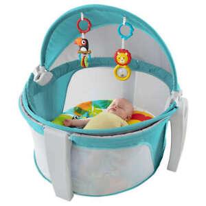 Culla con zanzariera On-The-Go Baby Dome Fisher Price 887961332490
