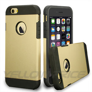 Luxury-Gold-Dustproof-Protective-Defender-Armor-Case-Cover-iPhone-5-5s-6-6s-Plus