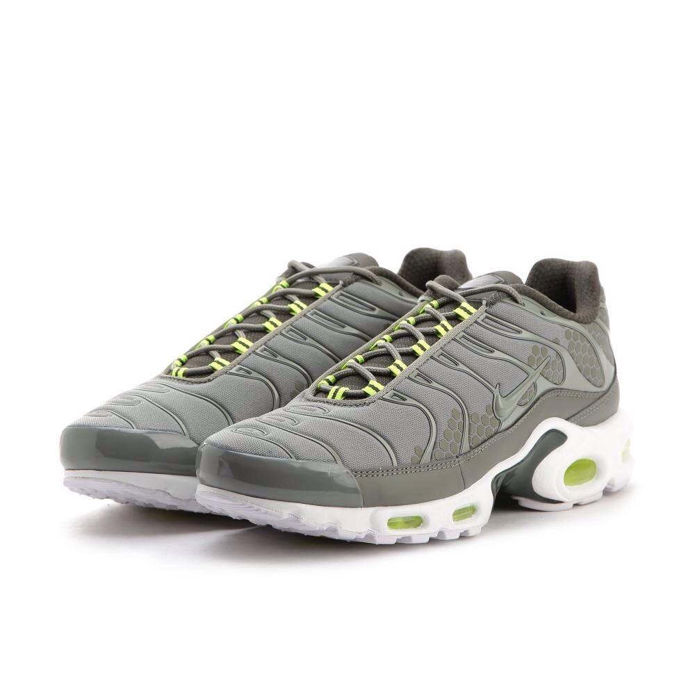 Entièrement neuf dans sa boîte pour femme nike air max plus se AMT Cargo Vert Kaki Blanc Taille 6.5 Chaussures de sport pour hommes et femmes