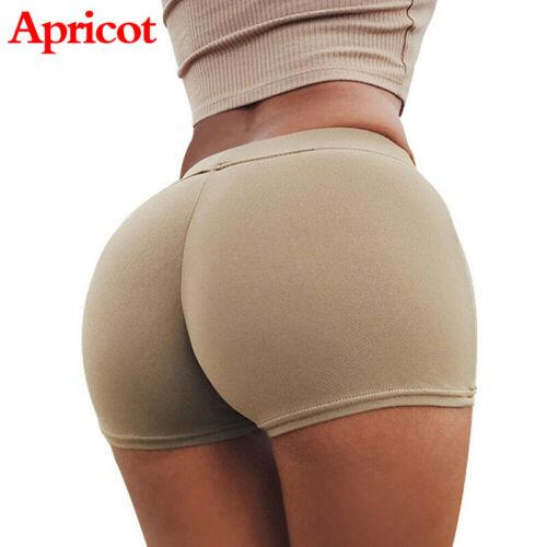 Summer Yoga Pants Women Sport Shorts Gym Workout Waistband Skinny Fitness Pants