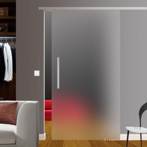 Slimline Softstop Glasschiebetür Glas Schiebe Tür 775x2050 BS-775DGE600