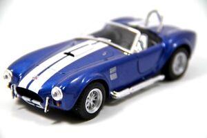 Brand-New-5-034-Kinsmart-1965-Shelby-Cobra-427-S-C-Diecast-Model-Toy-Car-1-32-Blue