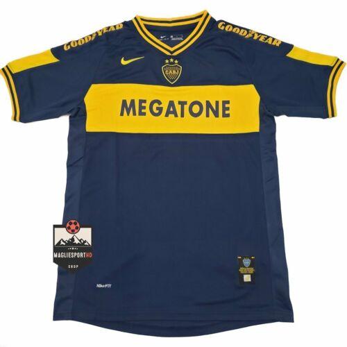 Calcio Vintage Retro Palermo Camiseta Maglia Roman Riquelme 2007 Boca Juniors