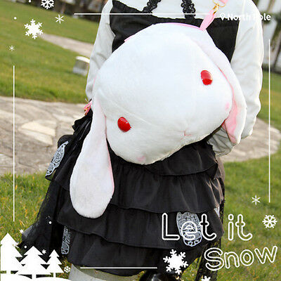 Kawaii Japanese Lolita Shy Lop Rabbit Doll Shoulder Bag Cute Bunny Long Ears