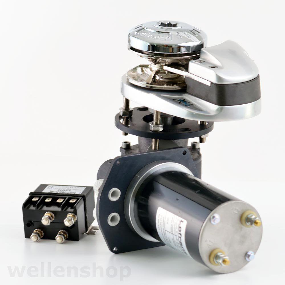Lofrans vertikale Ankerwinde X1 12V 12V 12V 6mm Kette u. 10-12mm Seil Stiefel Ankerwinsch db6a97
