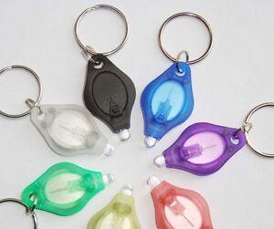 New-Mini-White-Light-LED-Torch-Flashlight-Keychain-Keyring-Portable-Hunting-Camp