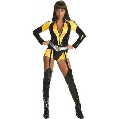 Silk Spectre Superhero Costume The Watchmen Halloween Fancy Dress