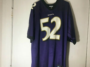 the latest f7235 d7e02 Details about Baltimore Ravens Ray Lewis Jersey size XL mens