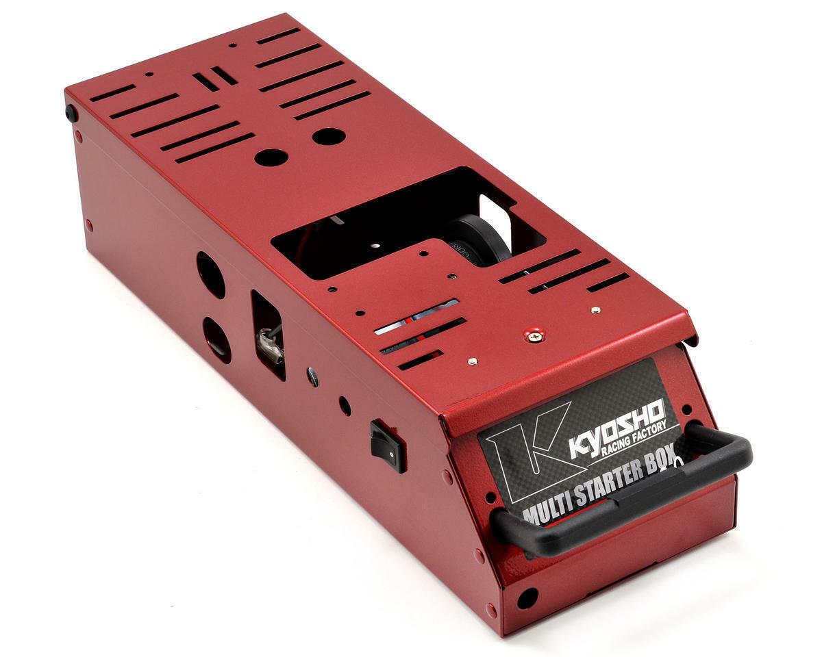 Kyosho 36209R Multi Starter Box 2.0 (RED)   1 8 1 10 Nitro Vehicle