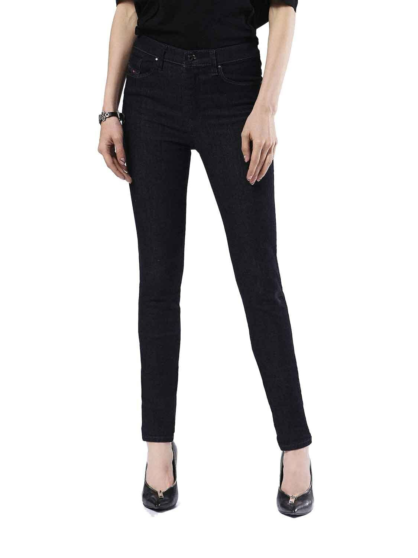Diesel Skinzee-High 0813C Elasticizzato women Jeans Aderenti
