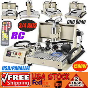 3-4-AXIS-6040-CNC-ROUTER-ENGRAVER-CUT-MACHINE-MILL-DRILL-1-5KW-USB-Parallel-RC