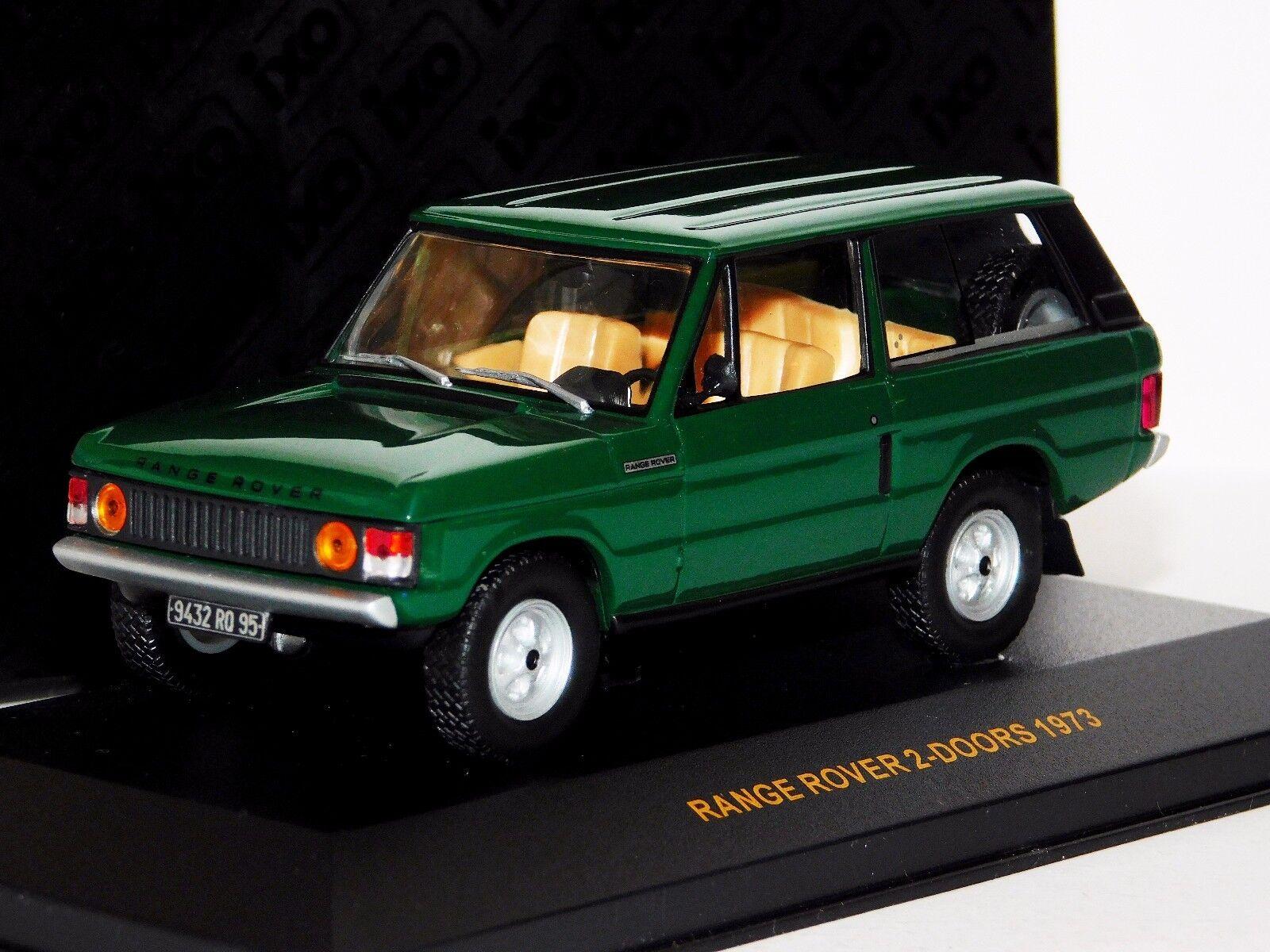Range Rover 2-portes 2D LHD 1973 Vert IXO CLC003 1 43