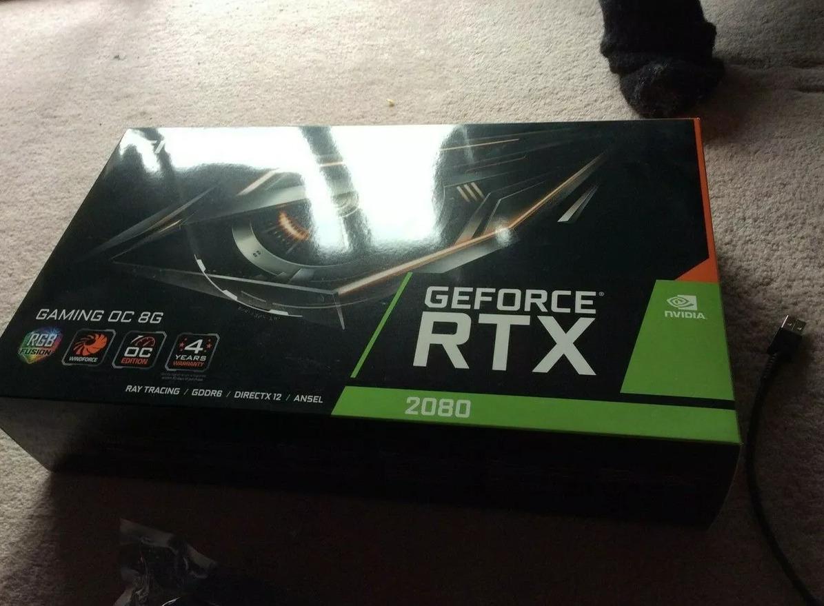 Gigabyte GeForce RTX 2080 Gaming OC 8GB GDDR6 Graphics Card