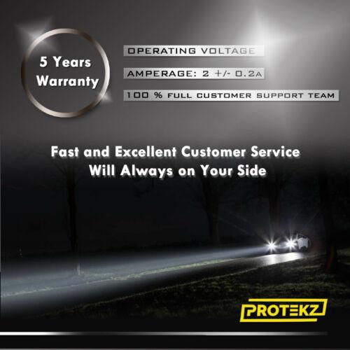 LED Civic 2001-2003 Headlight Kit H4//9003 HB2 6000K White CREE Bulbs HI//Low Beam