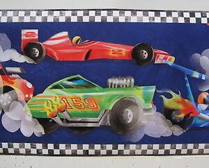Race Cars Racing Drag Racing Stock Cars Wallpaper Border 9