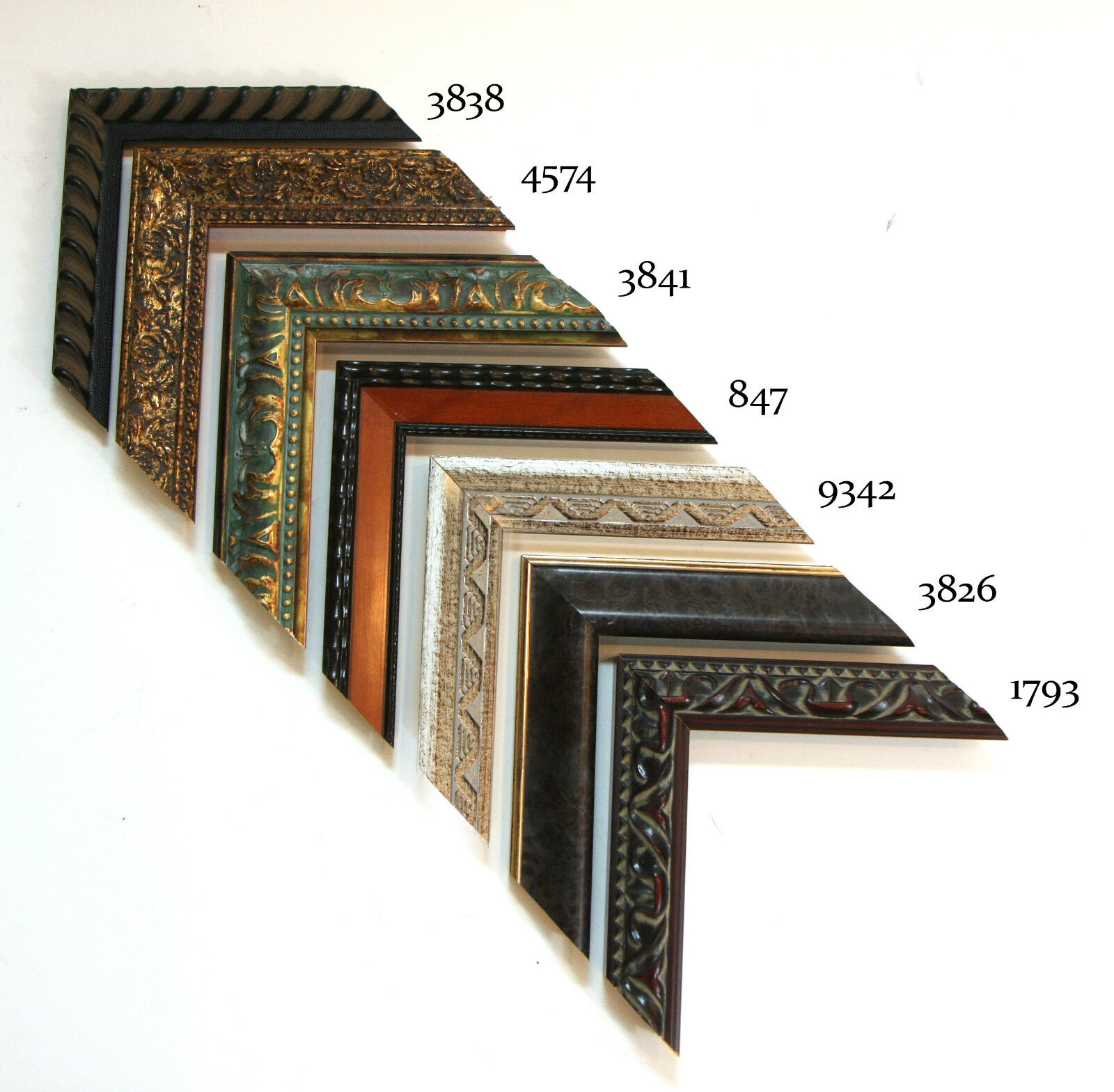 Custom Picture Frame   Ornate Series 1 Certificates   Great for Dimplomas & Certificates 1 1947ef
