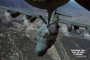 Aircraft-Photo-4-x-6-Lockheed-C-130-in-flight-U-S-Air-Force-1980s
