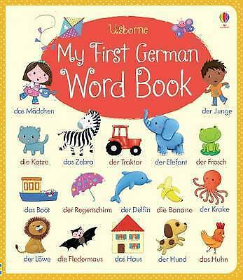 My First German Word Book ' Brooks, Felicity