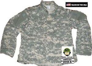 ZuverläSsig Us Army Ucp Acu At Digital Uniform Combat Acupat Coat Jacke Small Long Sport Militaria