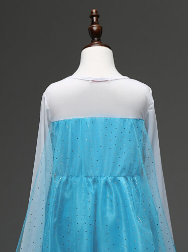 Vestito Carnevale Elsa Travestimento Dress up Elsa Costumes 789007CH 7K Frozen