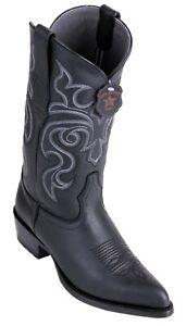 Men-039-s-Los-Altos-Genuine-Cowhide-Leather-Western-Cowboy-Boots-J-Toe-Handmade