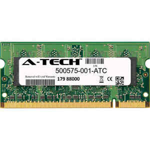 2GB-DDR2-PC2-6400-800MHz-SODIMM-HP-500575-001-Equivalent-Memory-RAM