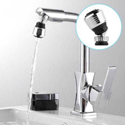 360 Rotate Swivel Faucet Nozzle Filter Adapter Aerator Diffuser Water Saving Tap