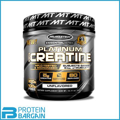 MuscleTech - Platinum 100% Micronised Creatine - 400 grams - 80 Servings