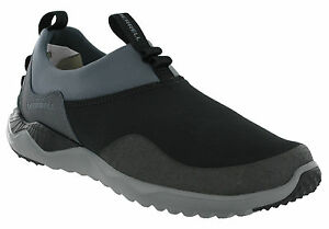 1six8 Flat Shoes Leather Merrell Soft Moccasins Trainers Mens M Black select grey Fabric 1q4wZ5p