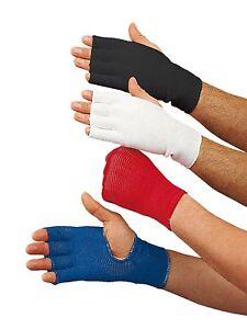Innenhandschuh-von-Kwon-Schwarz-rot-blau-u-weiss-Gr-XS-XL-Boxen-Kickboxen
