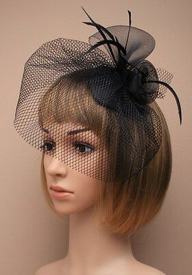 Large Comb Hat Hatinator Fascinator Weddings Ladies Day Race Royal Ascot 12