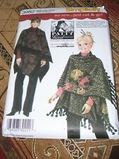 SIMPLICITY #3982 - MOTHER & DAUGHTER ( NO SEW - JUST CUT & GO ) WRAP PATTERN  FF