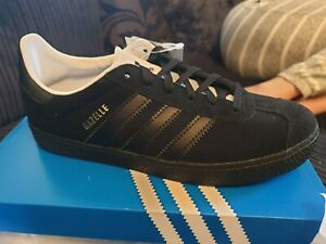 Adidas Gazelle Trainer's Size 3.5 Black