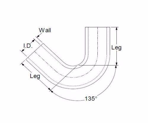 SCHWARZ 135 Grad Silikonbogen 135° ID 25mm Bogen LLK Silikonschlauch Schlauch