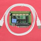 5 Axis CNC Breakout Board For Stepper Driver Controller mach3 for Arduino