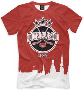HC Dinamo Minsk KHL Belarus Russian Professional Hockey  T-Shirt NEW Vintage G23