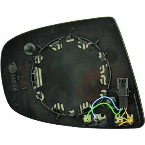 Vetro Specchio Specchietto retrovisore Sinistro BMW X5 X6 07-11 4-PIN riscald