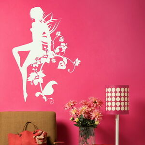 FAIRY TINKERBELL wall sticker kids vinyl stencil new art transfer ne19 - <span itemprop='availableAtOrFrom'>Tamworth, Staffordshire, United Kingdom</span> - You Are welcome to return your wall stickers if you are unhappy for any reason please notify within 14 days, should the return be due to an error by us we will pay return  - <span itemprop='availableAtOrFrom'>Tamworth, Staffordshire, United Kingdom</span>