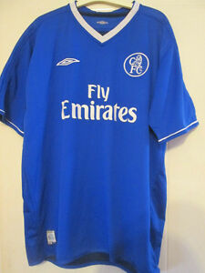 new style 75373 983c2 Details about Chelsea 2003-05 Reversible Home Football Shirt Size XXL  jersey /35042