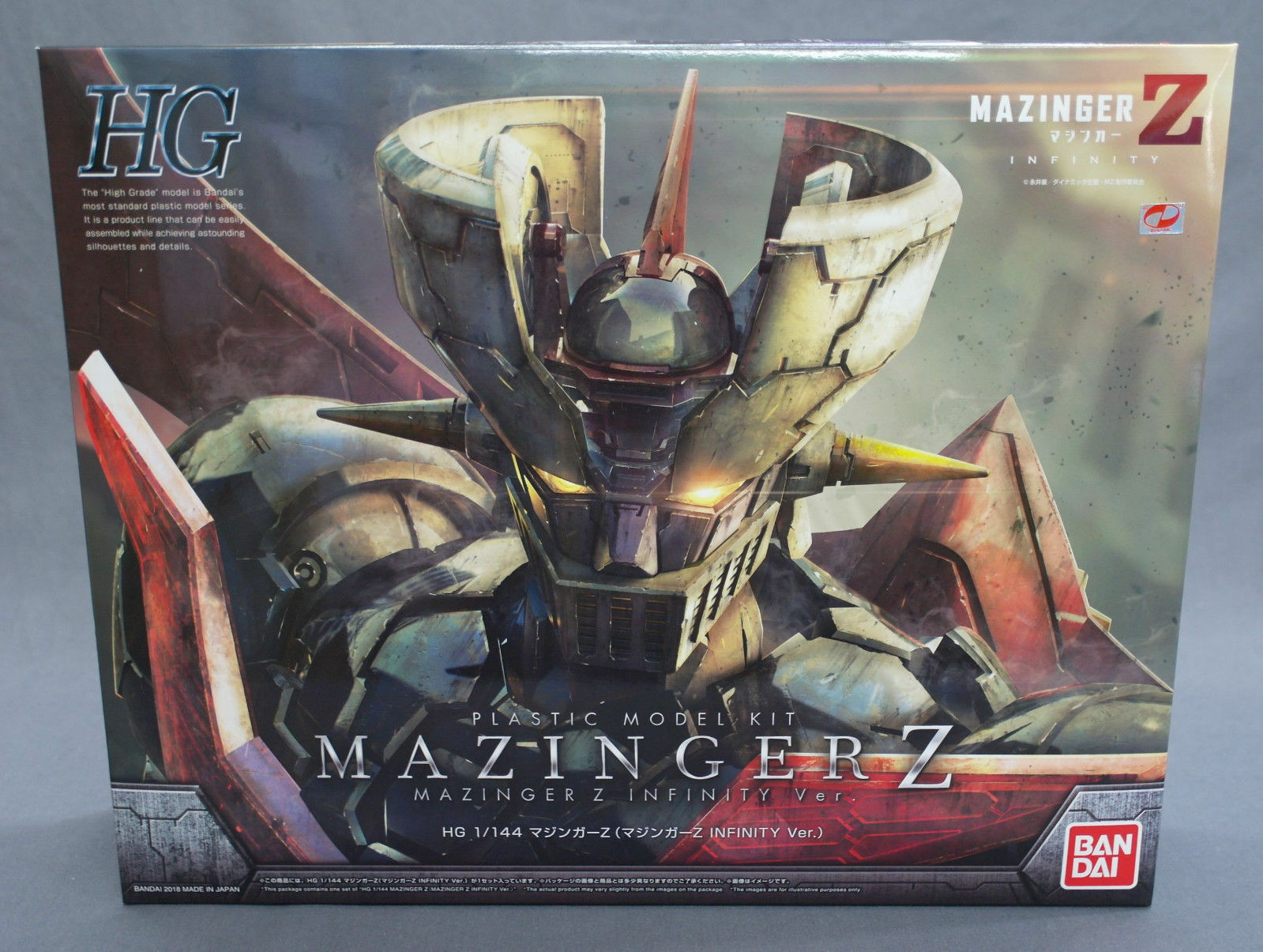 Mazinger Z HG Mazinger Z INFINITY Ver. 1/144 Plastic Model Kit Bandai NEW