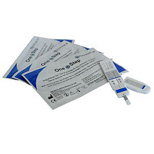 10 x ONE STEP® Cannabis/Marijuana/Skunk Single Urine Panel Drug Test Kits