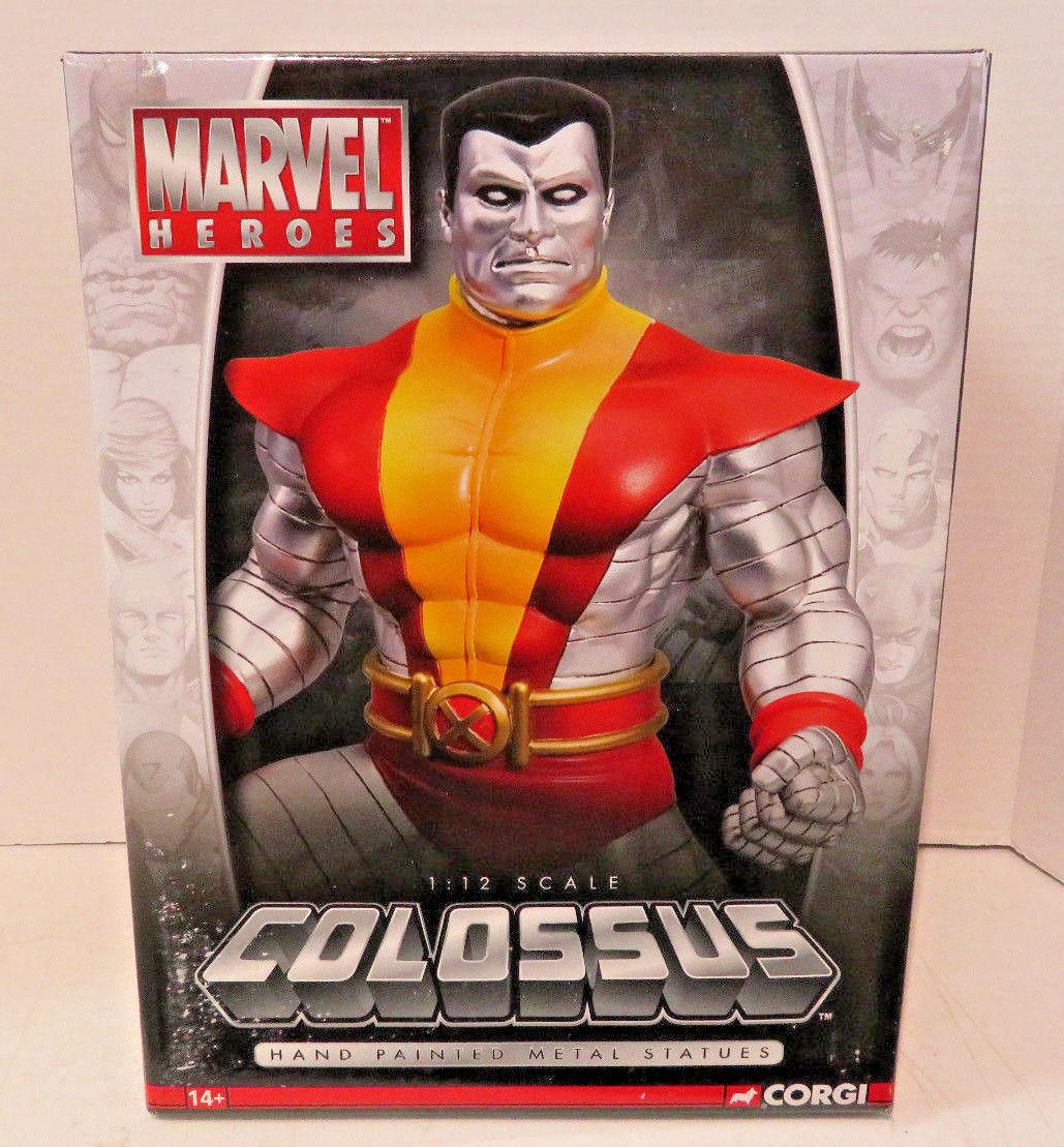 Colosse Marvel Heroes  1 12 scalehand peint métal statue CORGI Ltd Edt  qualité officielle