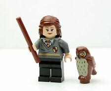 LEGO Harry Potter 4842 Hogwarts Hermione Minifigure w/ Owl and Wand NEW
