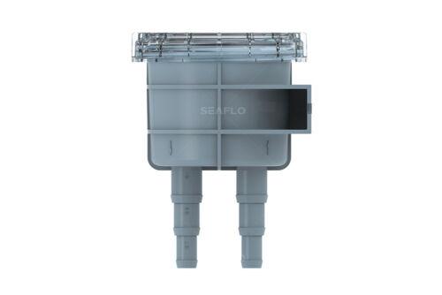 "SEAFLO Marine Raw Water Intake Strainer replaces Vetus Hose sizes 1//2/""-5//8/""-3//4/"""
